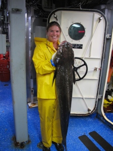 Me and a Cobia caught off the coast of Maryland