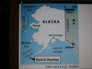 Dutch Harbor on the map