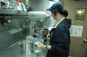 Me making a cake