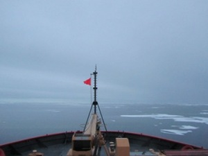 Midnight in the Arctic Ocean