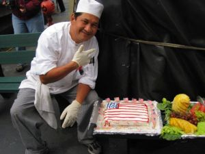 Ray with Cake