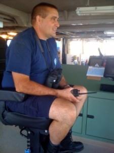 Commanding Officer Jerry Adams