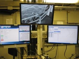 CTD data on monitors