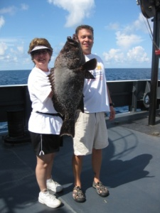 Big Grouper caught