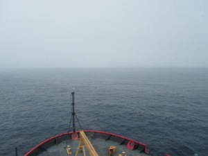 Moving through the Bering Strait