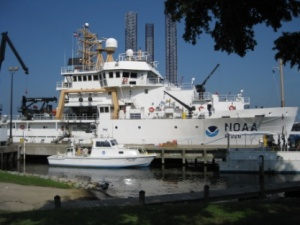 The Pisces in port