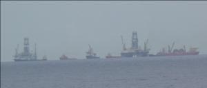View of Deepwater Horizon