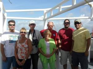 Scientists on my cruise