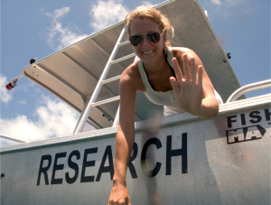 Julia Lawson- Graduate Student/Researcher (Marine Biology/Conservation)