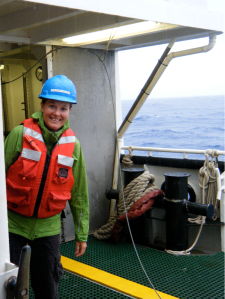 Sarah Fawcett- Chemical Oceanographer