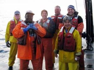 Day Shift Crew (left-ft): Larry Brady, Shayla Williams, Vic Nordahl, Gary Pearson, Shad Mahlum, Lollie Garay