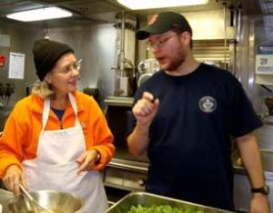 Barbara Moore and Will Fessenden design the perfect Caesar salad dressing.