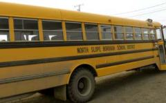 One of the school district's school buses