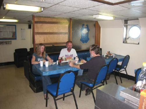 The Galley - This is where we enjoy deliciously prepared meals.