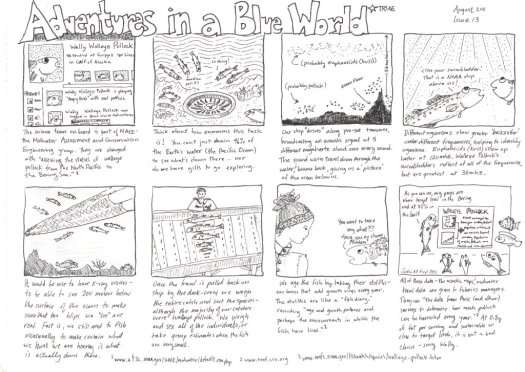 Adventures in a Blue World, Issue 13