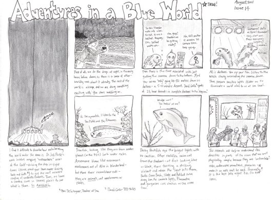 Adventures in a Blue World, Issue 14