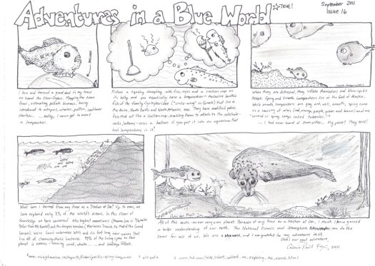 Adventures in a Blue World, Issue 16