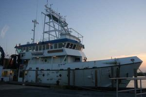 The R/V Hugh R. Sharp (Lewes, Delaware)