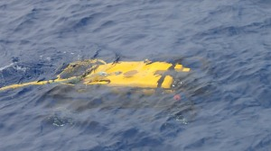 The ROV on it's first deployment
