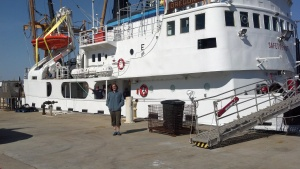 Boarding the Oregon II