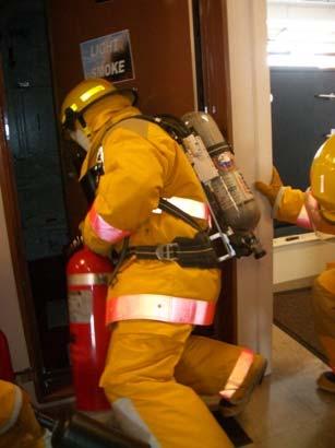 Fire team reacts