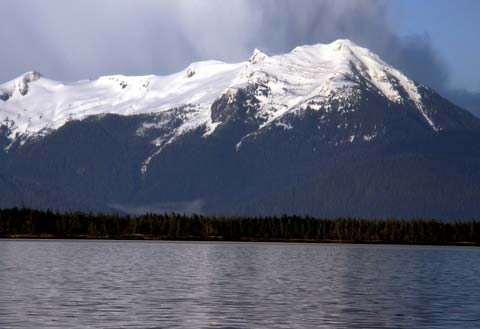Alaska…known for its snow-topped majestic mountains.