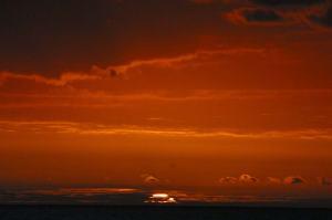 An unbelievable sunset