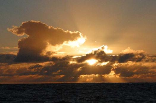 A breathtaking sunset