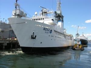 Okeanos Explorer, image courtesy of NOAA Office of Ocean Exploration
