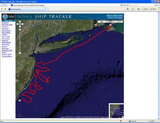 Ship tracker