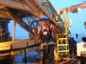 """Lisha """"gearing up"""" in safety equipment"""
