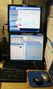 Monitoring the CTD deployment