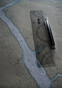 Nautical map of Behm Canal