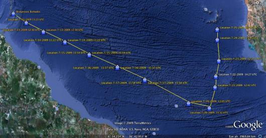 Research cruise plan