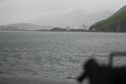 Approaching Dutch Harbor