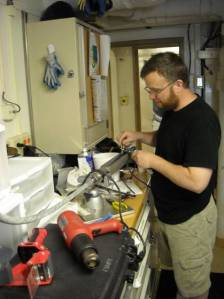 Electronics Technician Mike Hilton