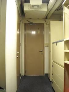 My cabin door.