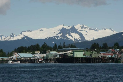 The town of Petersburg, Alaska was laid out by a Scandinavian man named Peter Buschmann, who started a salmon cannery and sawmill in the town in 1897.  Evidence of Petersburg's heritage is found throughout the town, and each year, the town holds a Viking celebration that draws residents and numerous visitors.