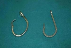 Circular Hook and J Hook size 16/0