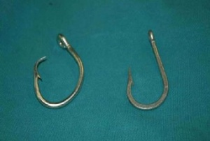 Circular Hook and J Hook size 16/0