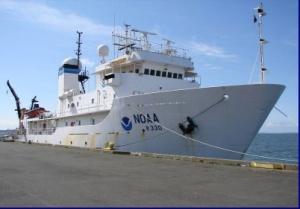 NOAA vessel McARTHUR II in port in Astoria, OR