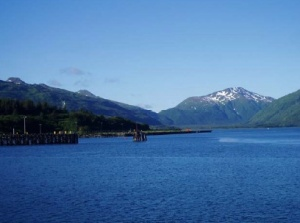As soon as we pulled away from the pier the incredible beauty of Alaska began to unfold all around us.
