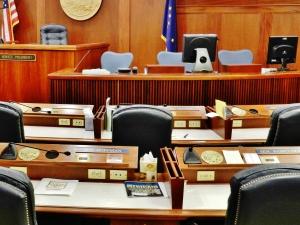 Alaska Senate Chambers