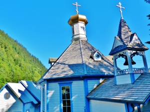 Russian Orthodox church in Juneau