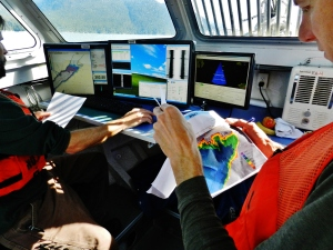 Analyzing data aboard the launch