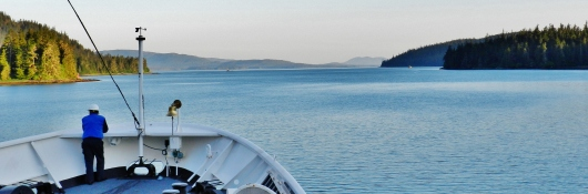 A bit of breathing room in Wrangell Narrows