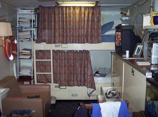Staterooms are comfortable and cozy!