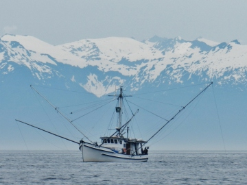 Same fishing boat, another pass