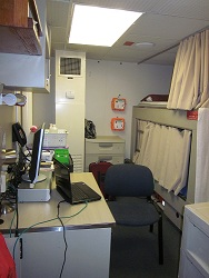 This is my berth.