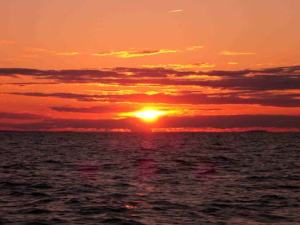 Sunset from Cape Cod Bay